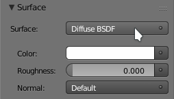 Material diffuse - Plancher